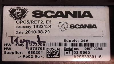 Naprawa sterowników OPC4 i  OPC5 SCANIA wszystkie modele